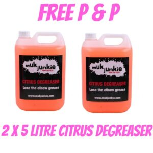 Special Offer – 2 x 5 litre Citrus Degreaser including free* P & P